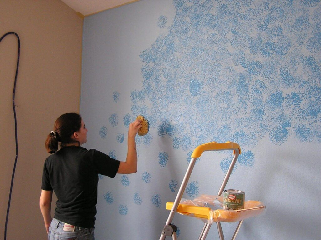Фото - Покраска стен